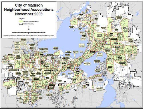 Madison Real Estate Show: City of Madison, WI Neighborhood ...